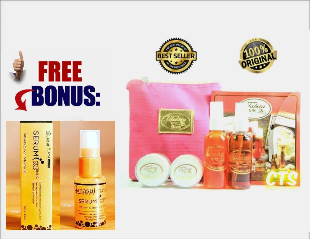 TABITA ORIGINAL EXSCLUSIVE Kemasan Kecil 20gr - Skin Care + Free SERUM HANASUI GOLD