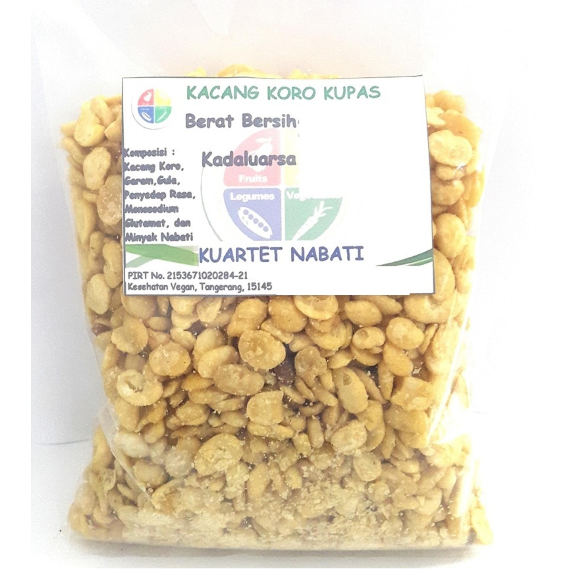 Kuartet Nabati Kacang Koro Kupas (1000 Gr)