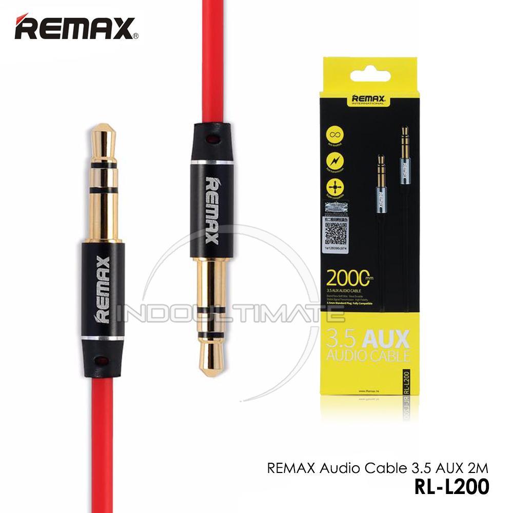 Kelebihan Kabel Audio Aux Sonized Terkini Daftar Harga Dan Tempat Remax Cable Rl 20s 35 2m L200