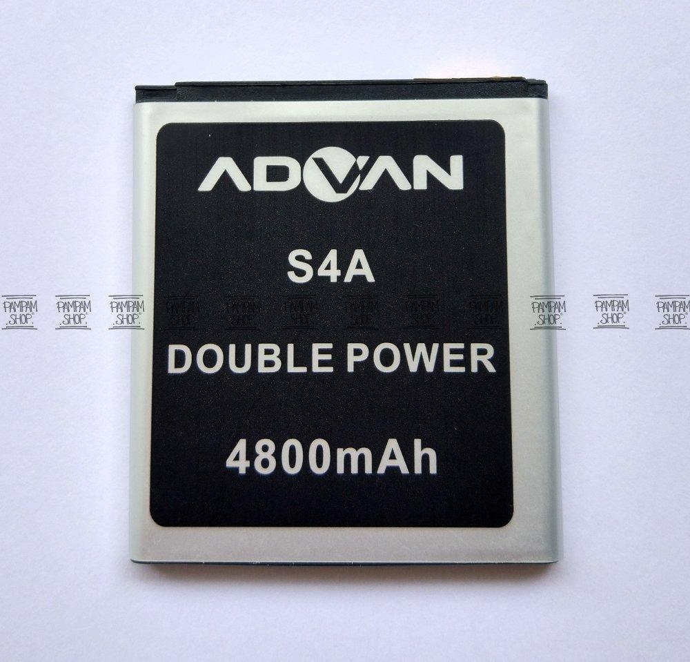 Baterai Handphone Advan S4A Original Double Power 100 OEM Batre Batrai Battery Ori HP Advance