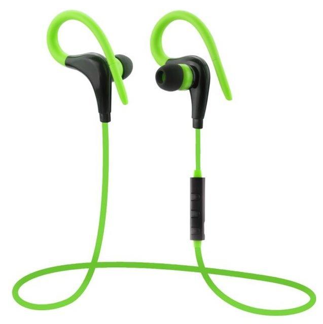 Hot penjualan XT-1 nirkabel Bluetooth 4.1 Headset olahraga Stereo Earphone dengan Mic - hitam