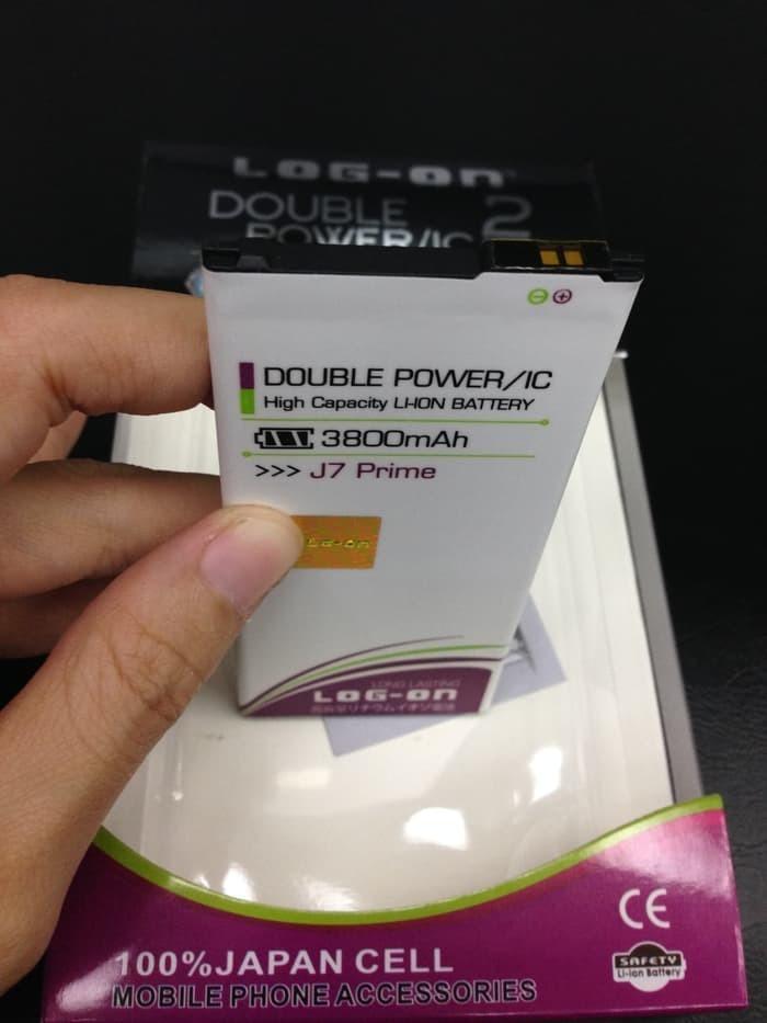 Review Baterai Battery Batre Samsung J7 Prime Log On Double