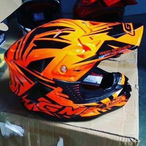 ... Helm GM Super Cross Moto 1 All Varian Full Face - 3