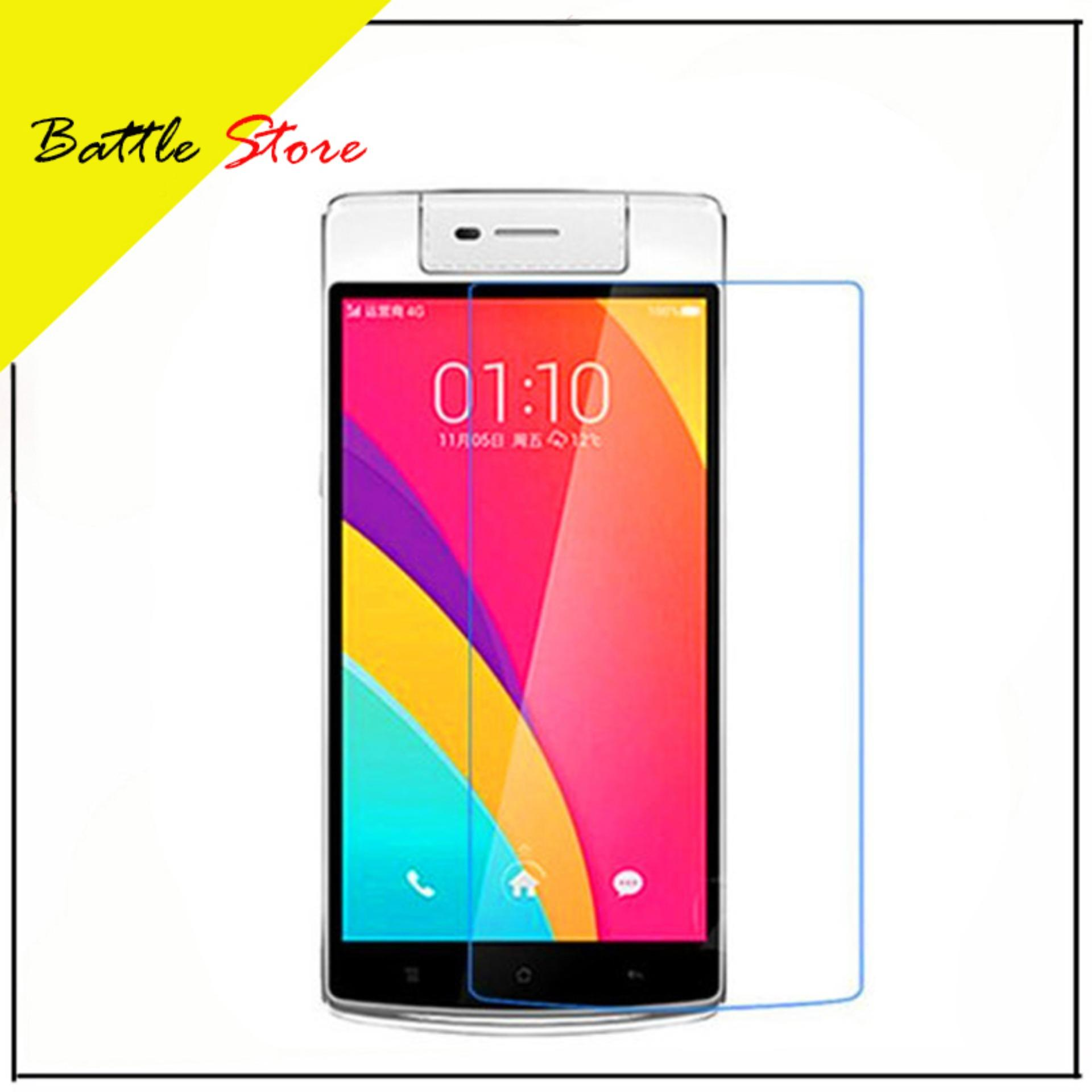 Oppo N3 Smile Screen Protector Tempered Glass / Anti Gores Kaca - White Clear