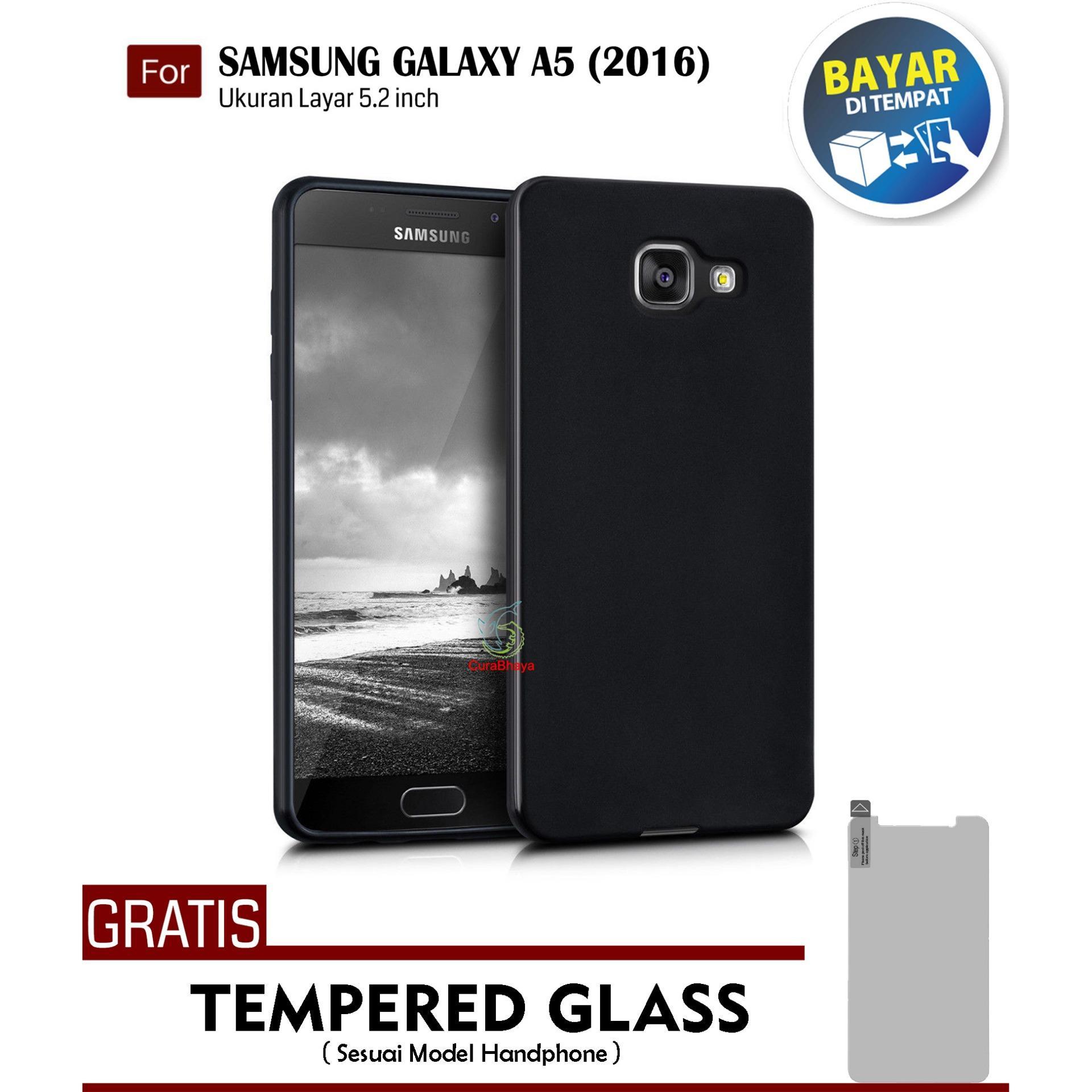 MidNight Samsung Galaxy A5 (2016) / A510 / Duos | Slim Case Black Matte