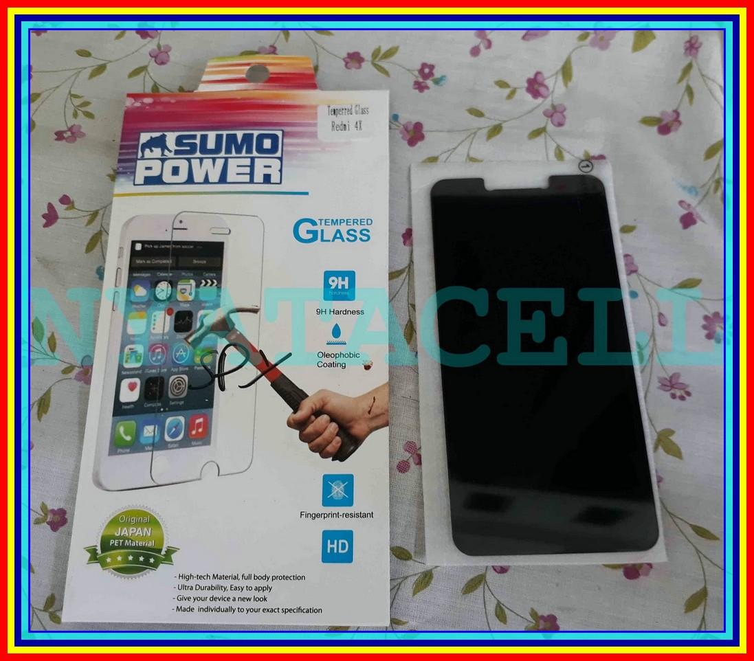 Tempered Glass Spy XIAOMI Redmi 4X Anti Gores Kaca Privacy Gelap