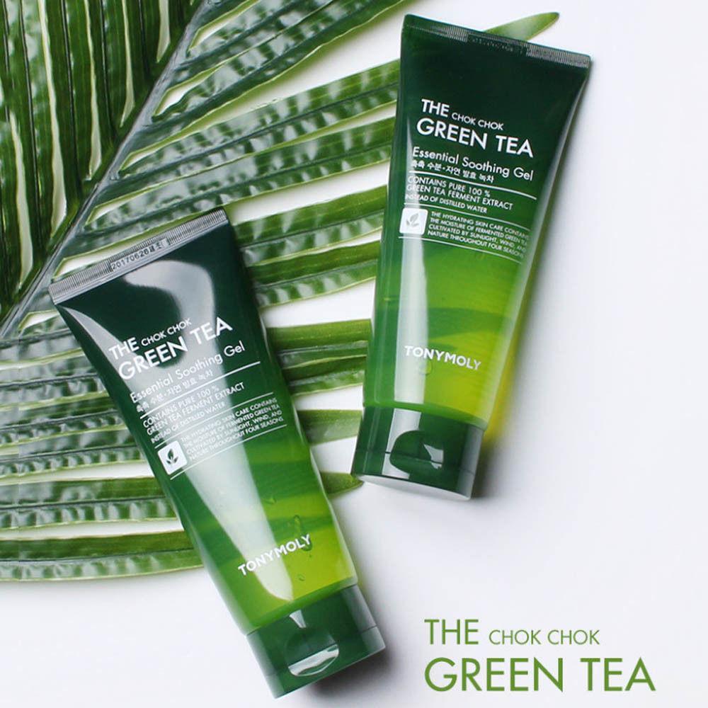 Harga Tony Moly The Chok Chok Green Tea Essential Soothing Gel Yang Bagus