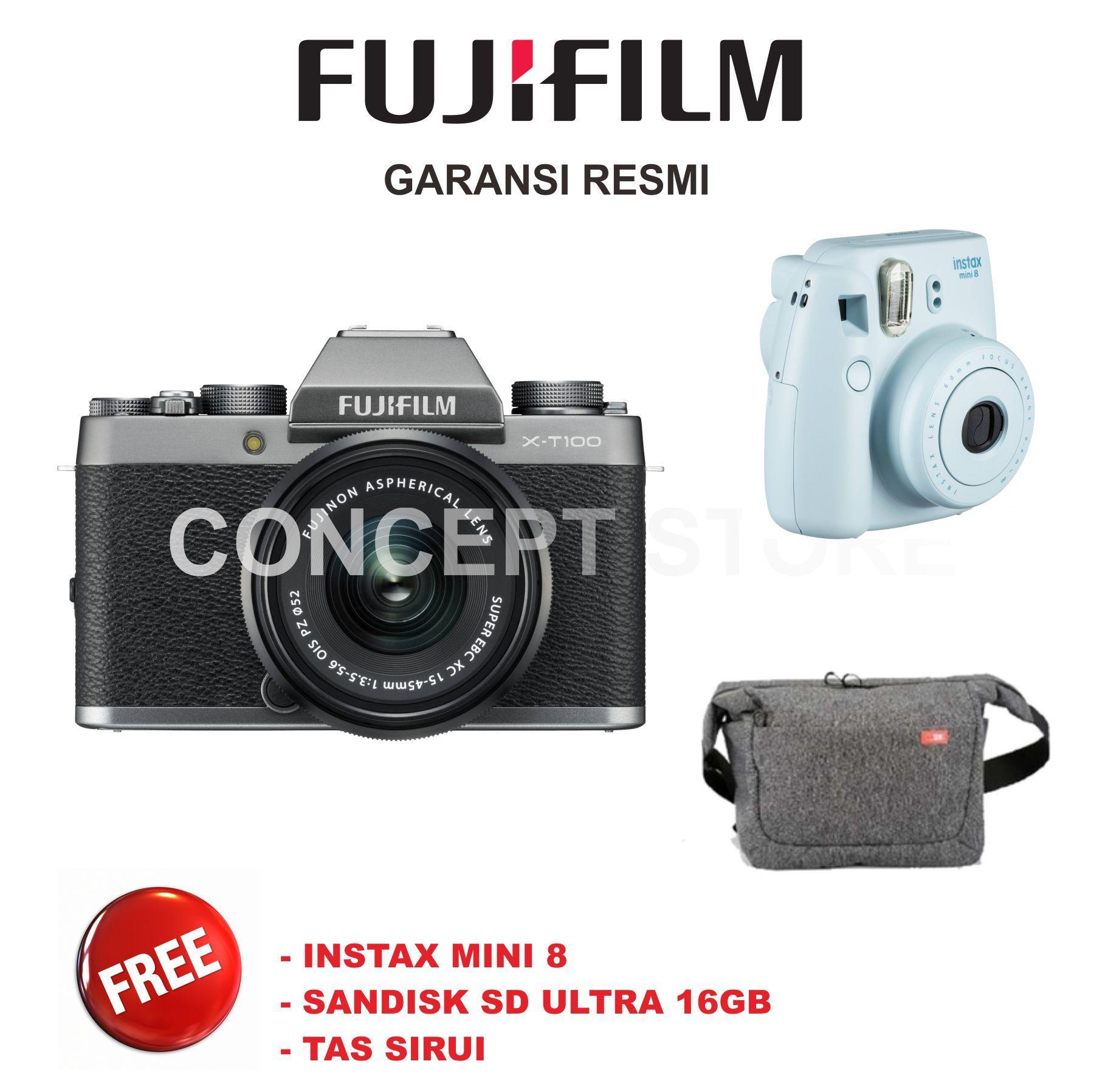 Kelebihan Fujifilm X T2 Kit Xf 18 55mm F 2 8 4 R Lm Ois Kamera T20 F28 Black 35mm F2 Sp2 T100 15 45mm Mirrorless Xt100