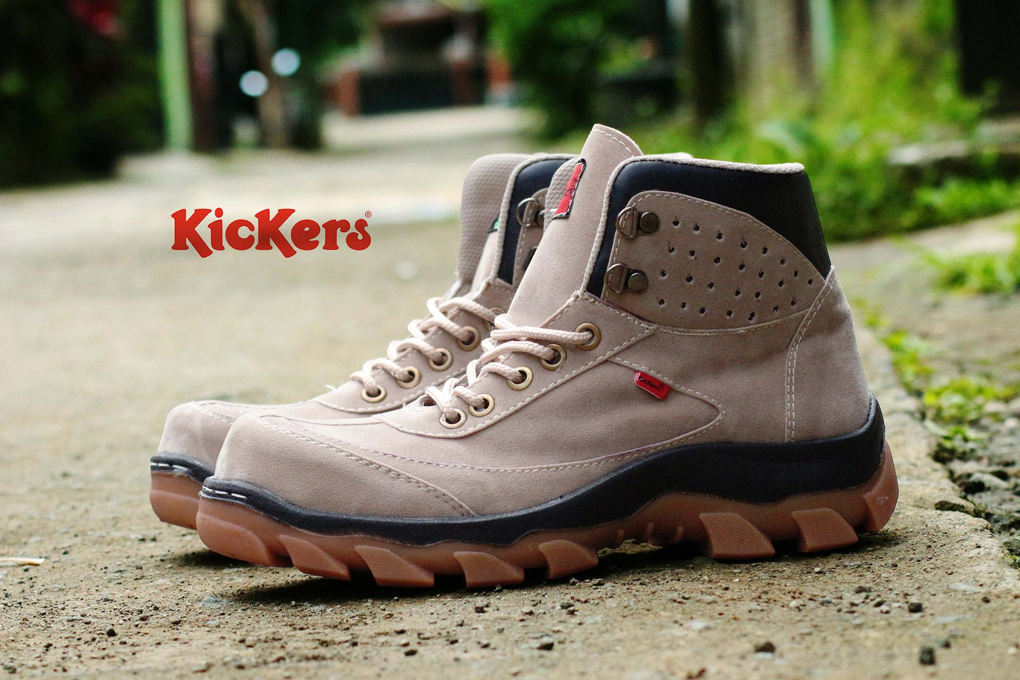 Sepatu Pria Kickers Boots Safety
