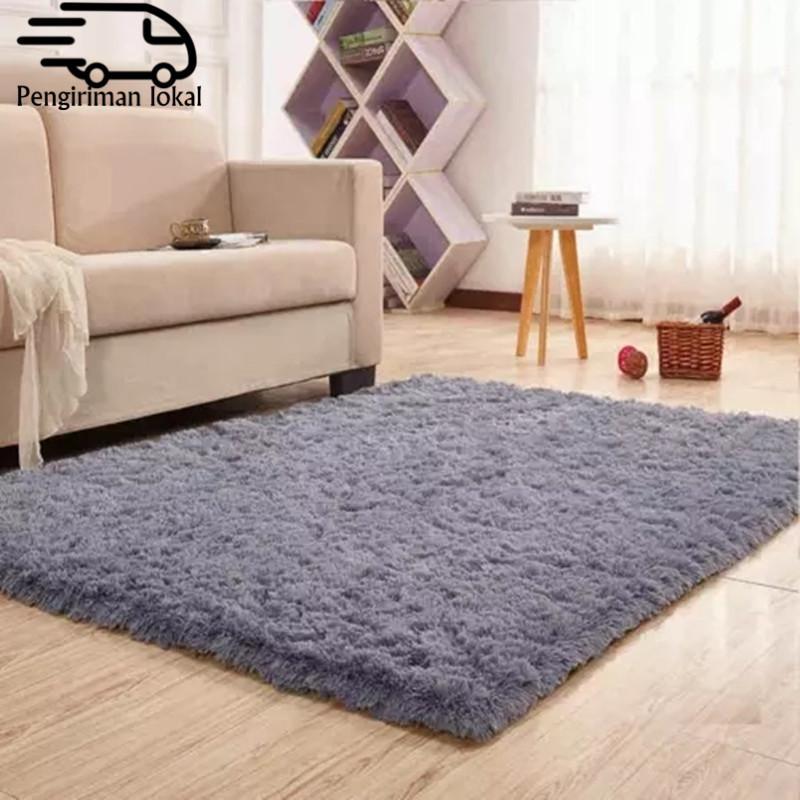 OUTLET karpet Bulu Carpet Floor Mat Lembut Tebal selimut tebal Keluarga Karpet ruang tamu Karpet yang