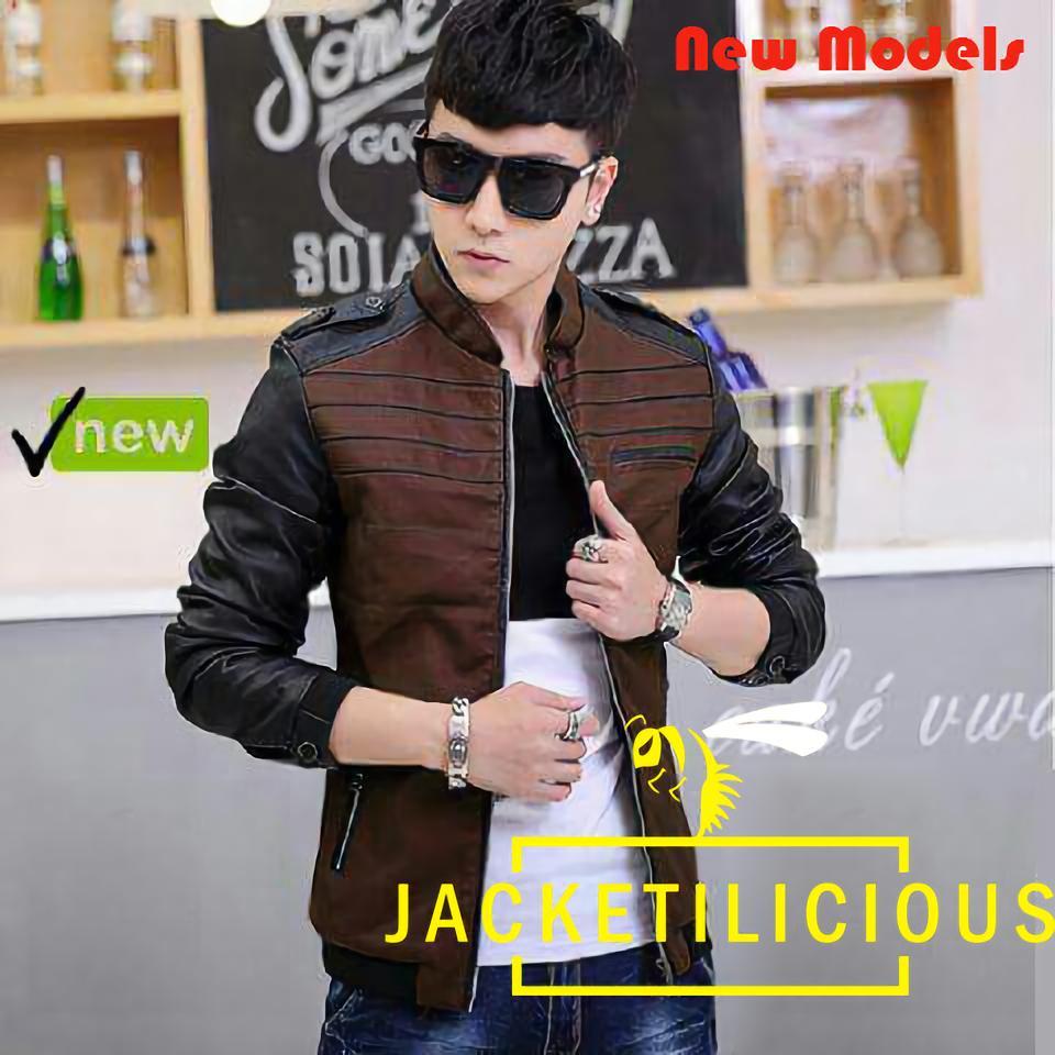 Kehebatan Jaket Korean Style Motif Garis Jack 037 Dan Harga Update Harakiri Korea Abu Jack037