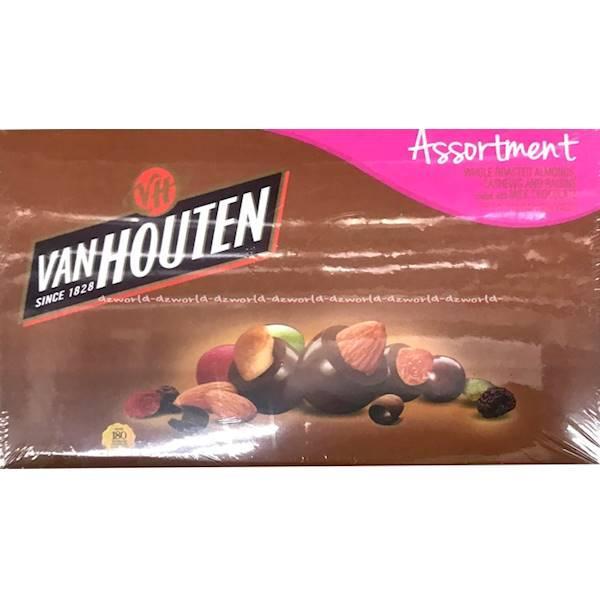 Vanhouten Assortment Coklat Bulat Kacang Van Houten Chocolate 130Gr