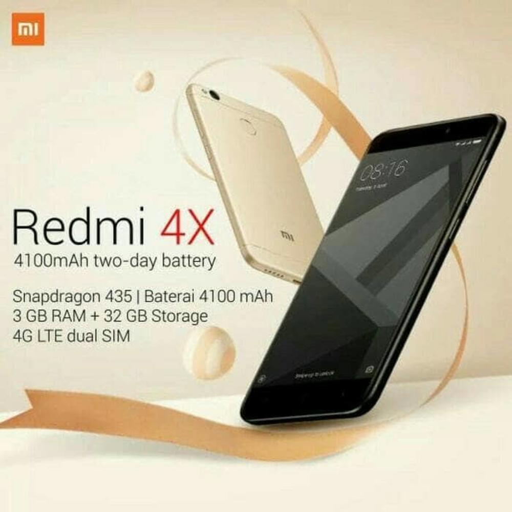 Jual Xiaomi Redmi 4X Prime Ram 3Gb Rom 32Gb Termurah