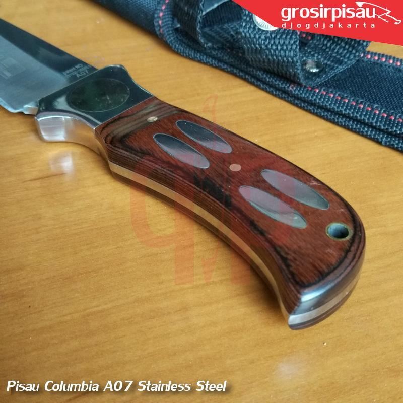 Detail Gambar Pisau Survival Columbia A07 14cm Terbaru