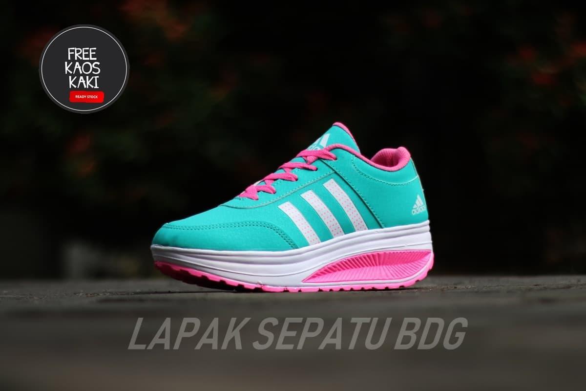 sepatu sneakers SEPATU WEDGES WANITA Fashion Sneakers impor ZX900 READY STOCK sepatu olahraga - 3