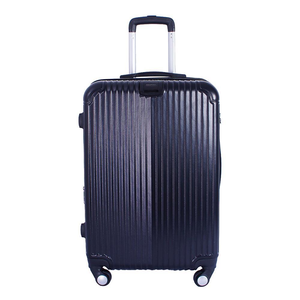 Real Polo Tas Koper Hardcase Fiber ABS - 4 Roda Putar - GGEJ Size 24 Inch