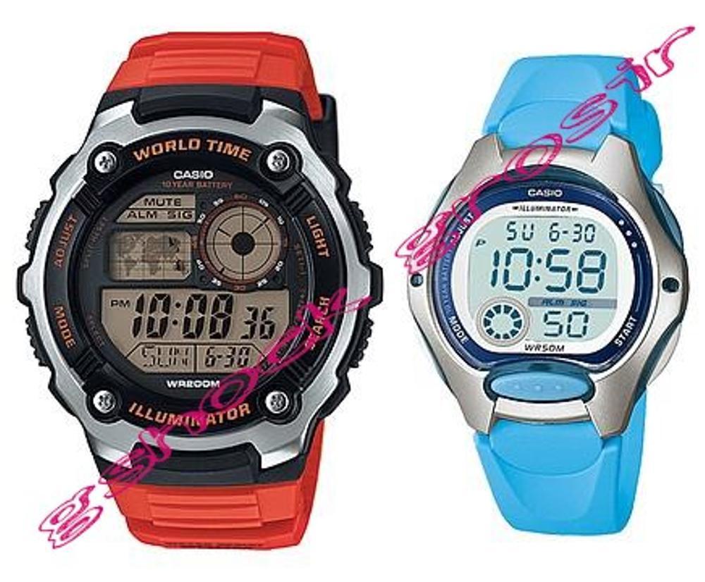 Jam Tangan Casio Original Couple Pria&Wanita Ae-2100w-4a & Lw-200-2b (Harga Sepasang) MMBKL