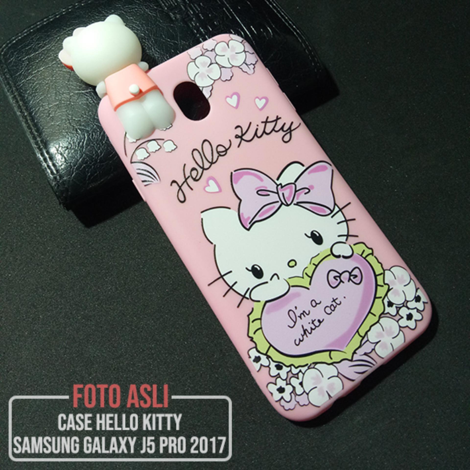 CASE SAMSUNG GALAXY J5 PRO / J530 BONEKA KARTUN KARAKTER HELLO KITTY CUTE 3D