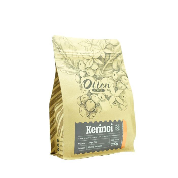 Otten Coffee Arabica Kerinci Kayu Aro Honey Process 200g - Bubuk Kopi