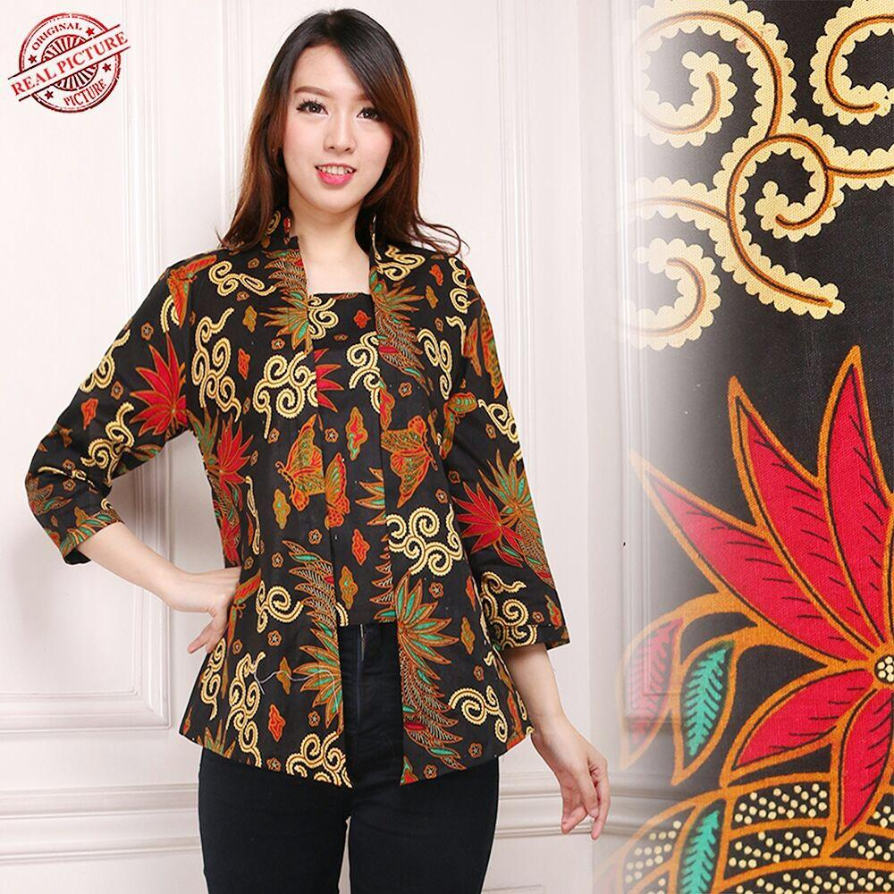 Spesifikasi Shining Collection Atasan Blouse Ashanti Abaya Batik Shining Terbaru