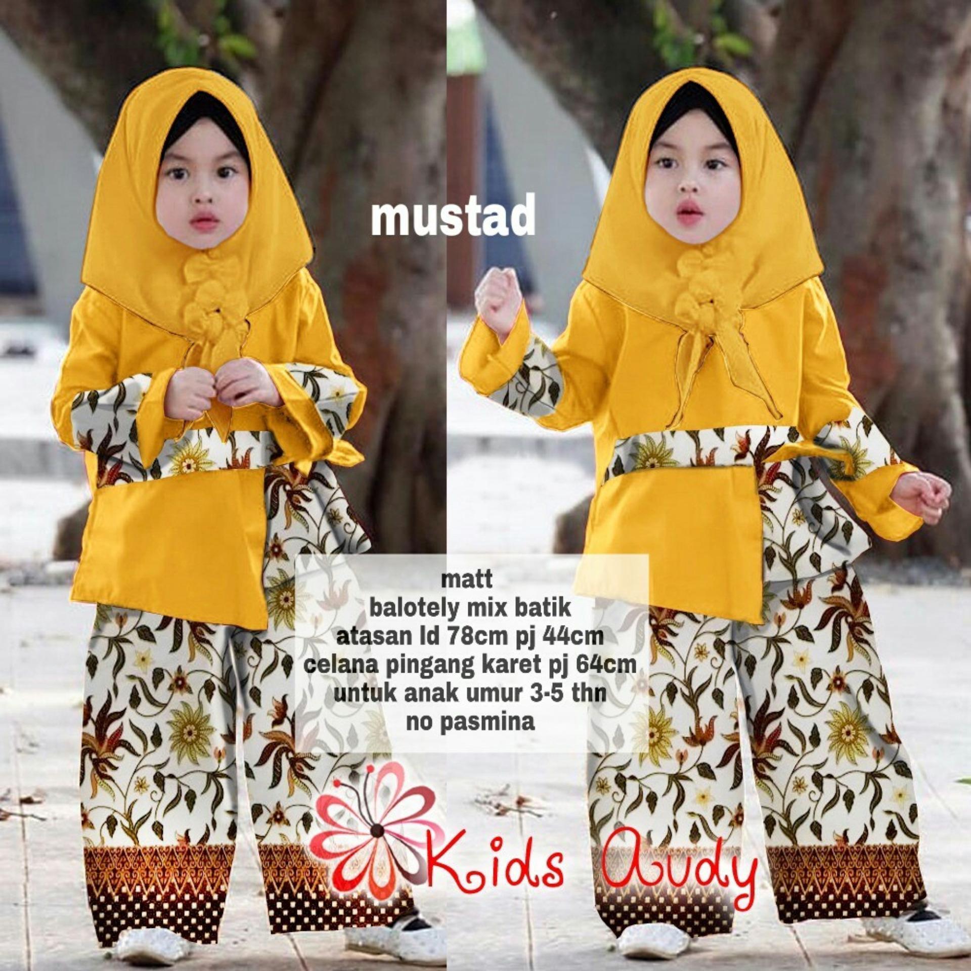 Fitur Jual Baju Gamis Anak Kebaya Kombinasi Batik Balotely Hijab