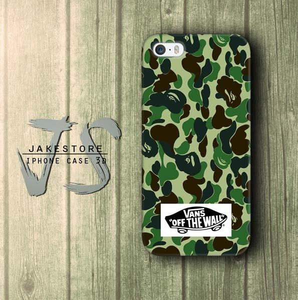 Case Samsung J7 Pro Vans Off The Wall Army Bape  Hardcase