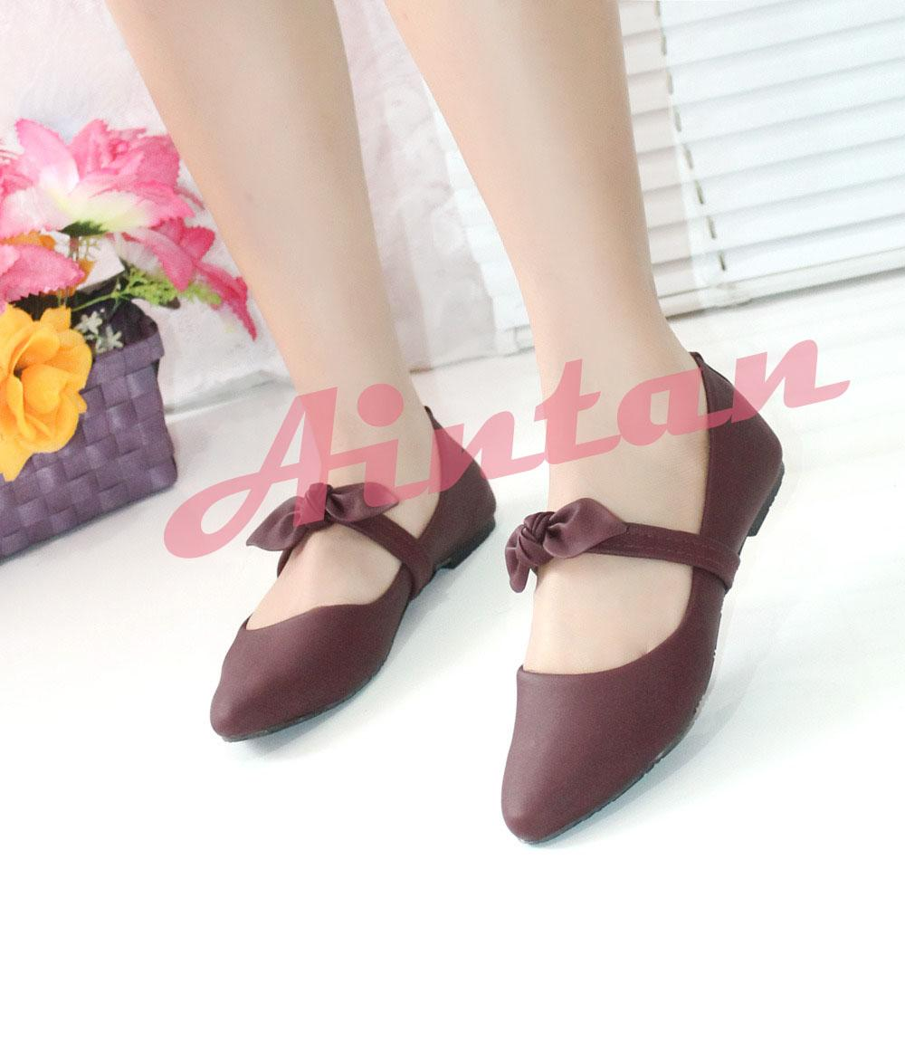 Aintan Flat Shoes Wanita Develop 007 Sepatu Slip on Wanita