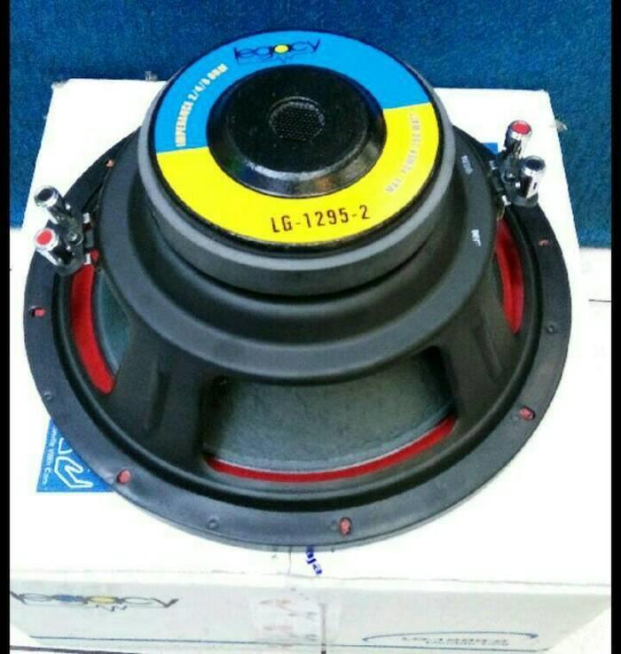 ORIGINALS  speaker legacy 12 inch 1295-2 baru 250 watt double spul