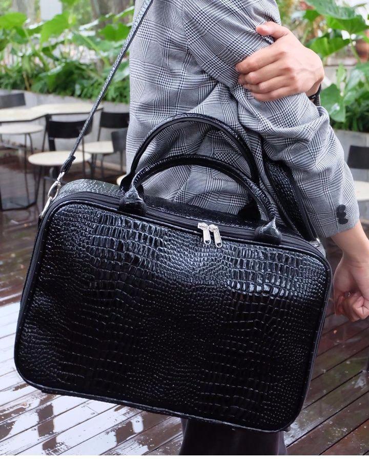 Tas Kulit Buaya/Tas Travel/Tas Pakaian/Koper Jinjing/Speedy Bags