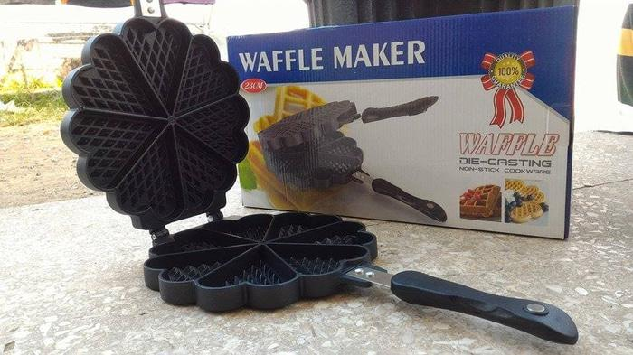 ... Queen Mall - Cetakan Wafer/Waffle Maker Pan - 3