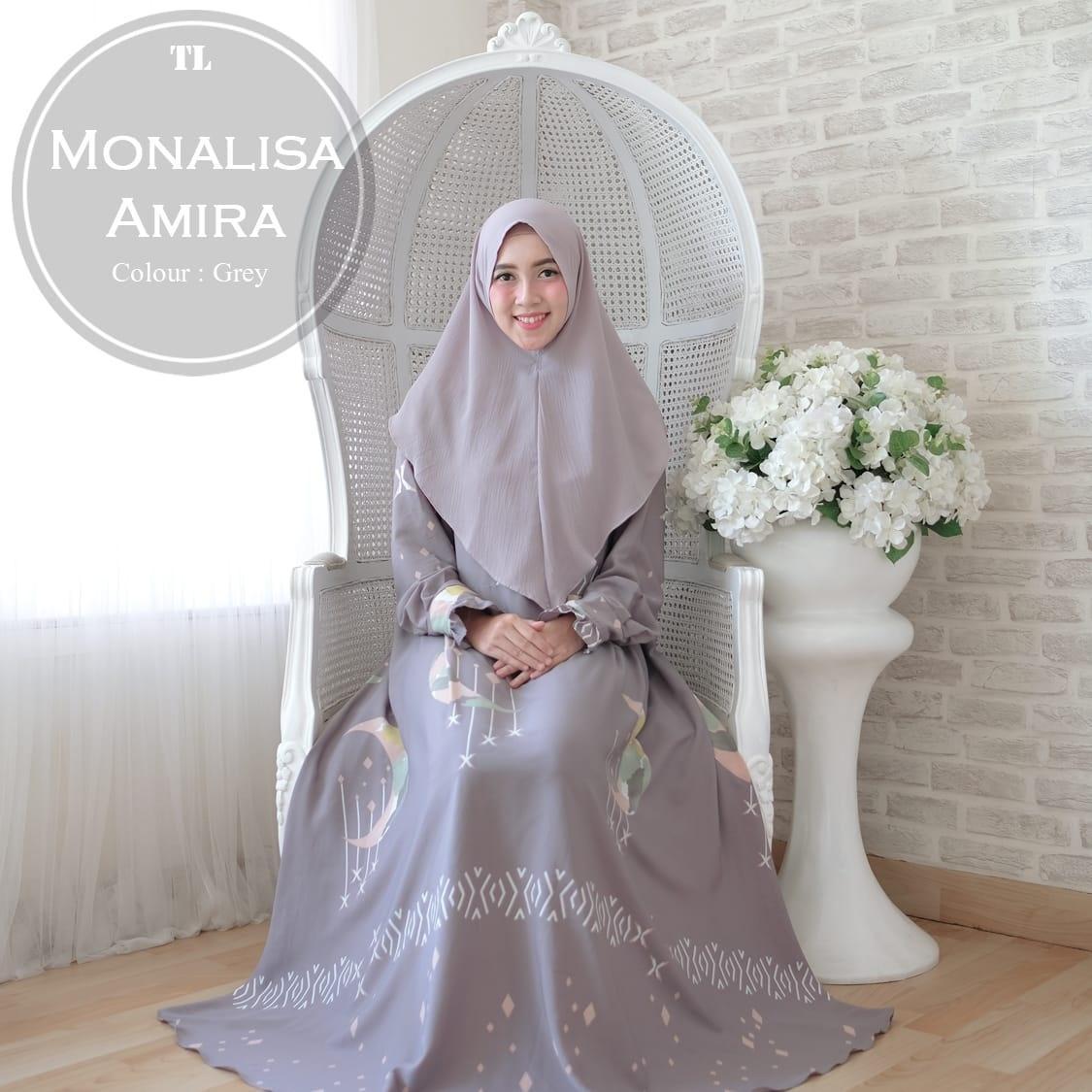 silentriver88 gamis muslim syari monalisa amira premium