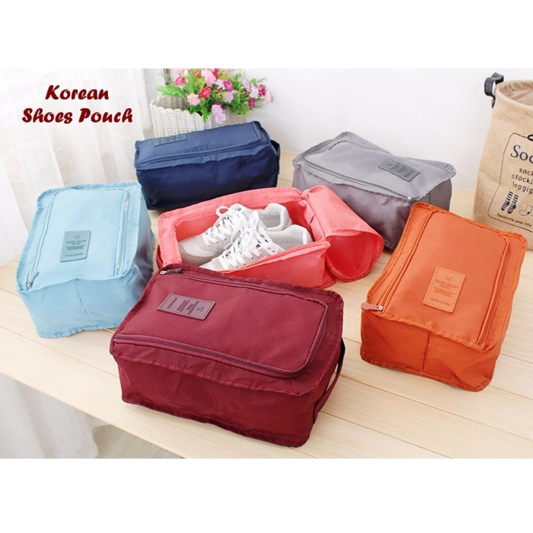 Korean Shoes Pouch Tas Sepatu Sandal Travel Pouch Organizer Bag Im 208