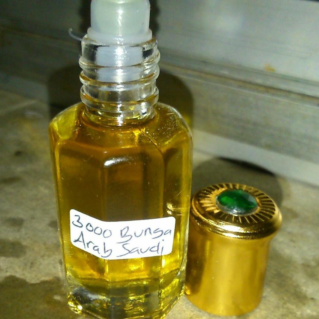 Minyak parfum 3000 bunga original arab wangi sekali!