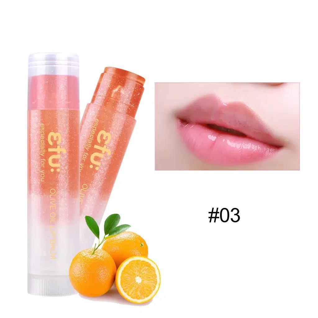 EFU Olive Oil Lip Balm Moisturizing / Pelembab Bibir Korea