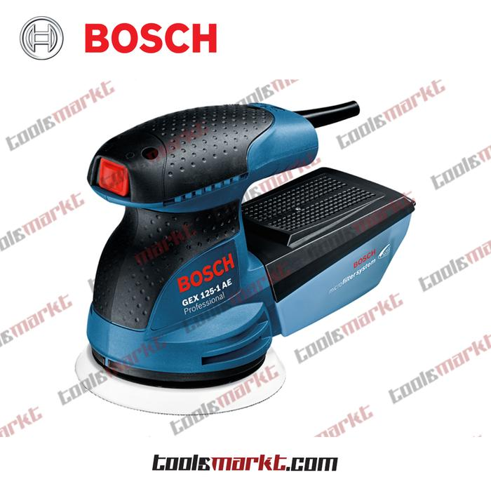 ORIGINAL - Bosch GEX 125-1 AE Mesin Amplas Orbital Listrik Sander GEX125-1AE