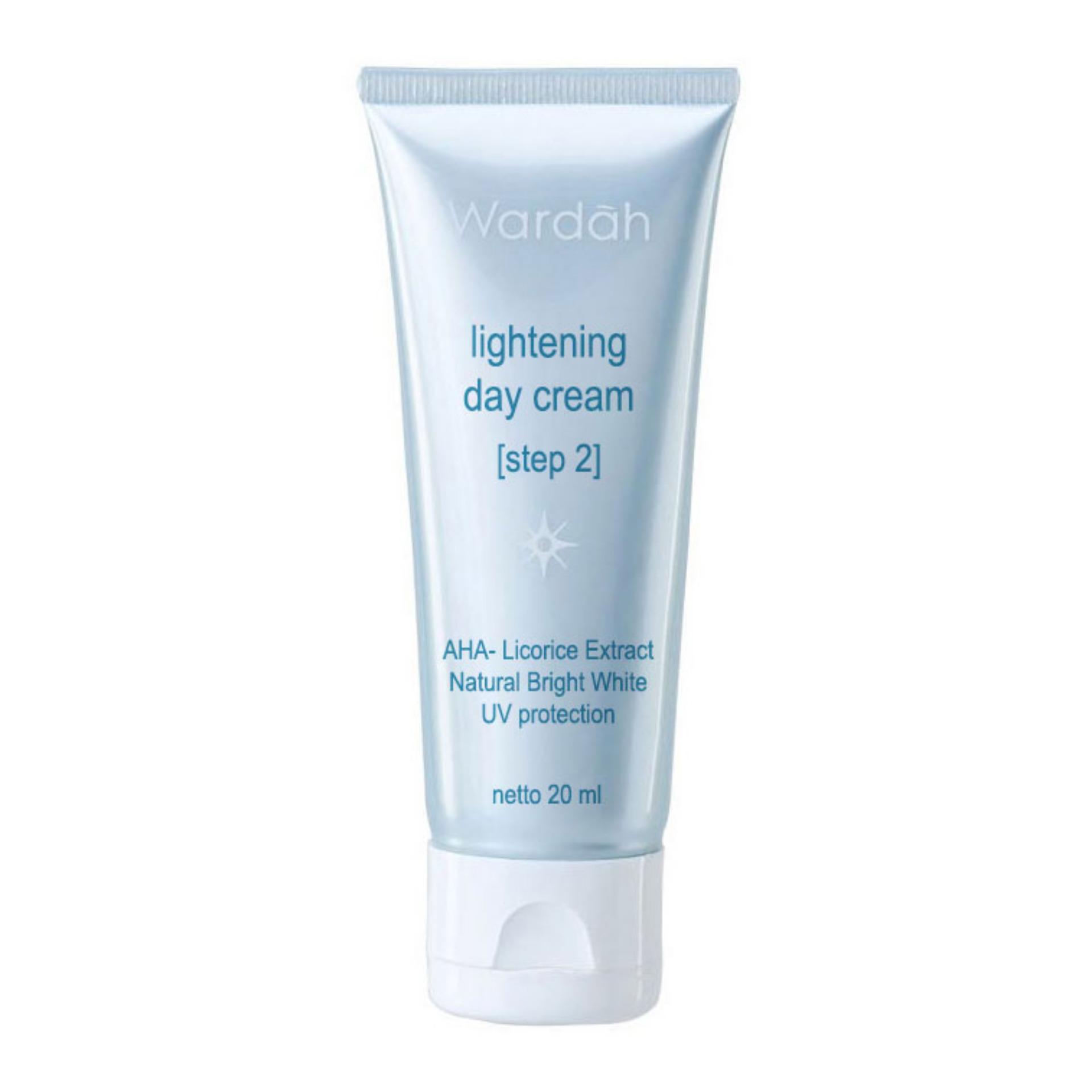 Wardah Lightening Day Cream Step 2 - 20ml (Tube Kecil)