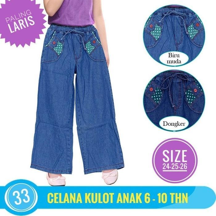 SALE PROMO!! Celana Panjang anak perempuan Celana Kulot Anak Jeans