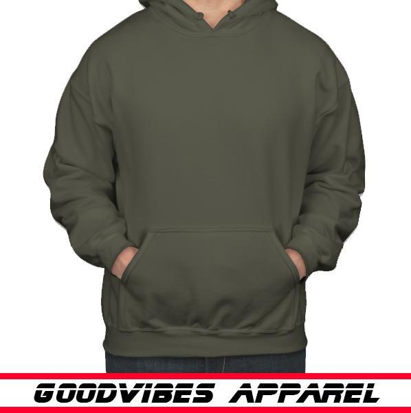 VIVIAN - Jaket Sweater Hoodie Jumper Polos Pria / Jaket Distro Murah Best Seller - Hijau