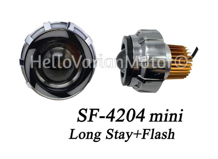 ... 3 Lampu LED Projie Mini Bulat Rainbow Flash - 4