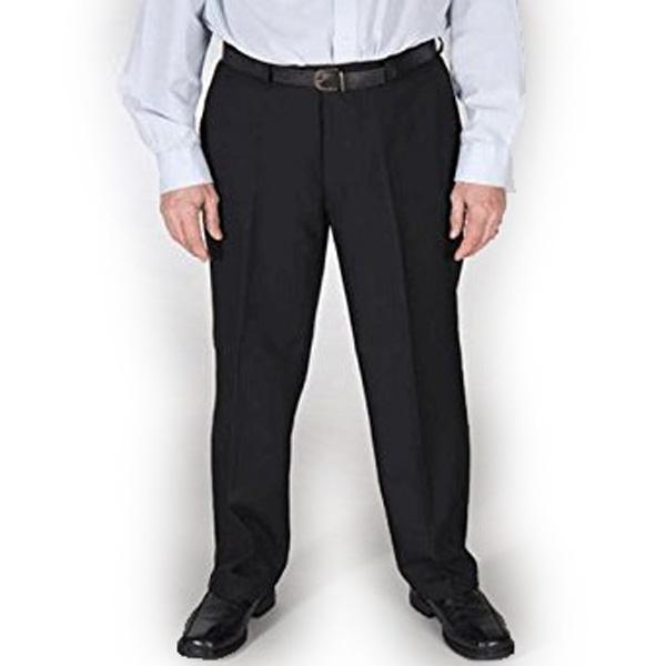 jagoan fashion – celana formal jumbo / celana panjang pria / celana bahan hitam / celana fashion pria / celana kerja pria / celana kantoran / fashion pria / celana kain hitam / celana big size / celana model reguler standard polos jumbo 39 40 41 42 43 44