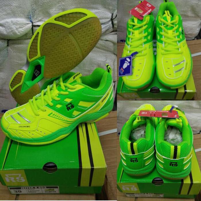 Sepatu Badminton RS JF R 853 / JEFFER R 853 - Original
