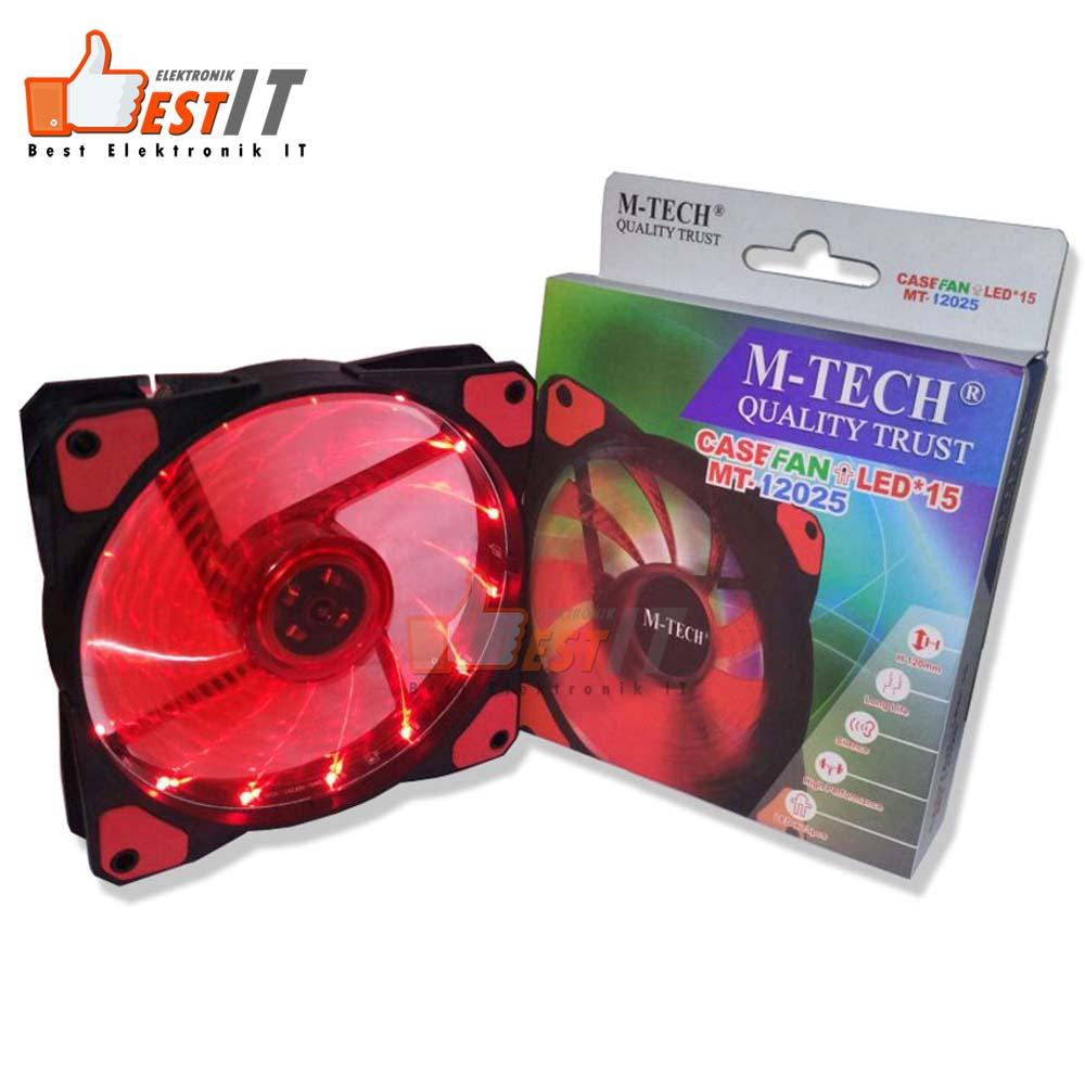 Kipas Fan Casing PC Gaming LED M-Tech