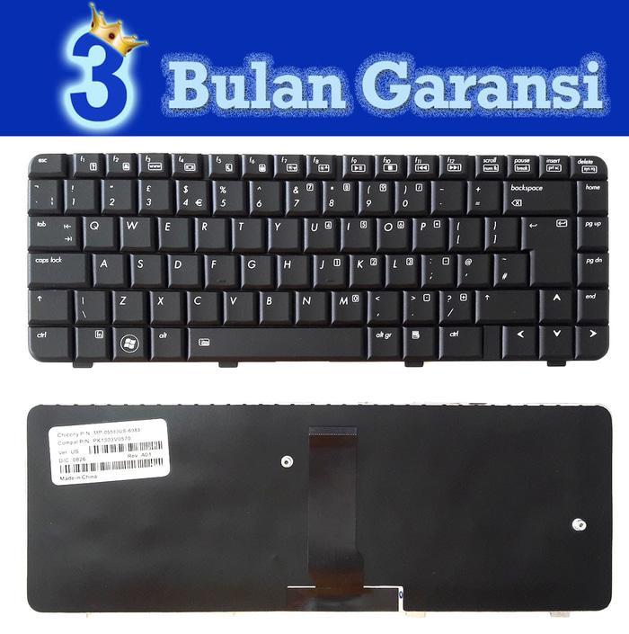 Keyboard Laptop Compaq 6520S, 6720S , HP 540, 550