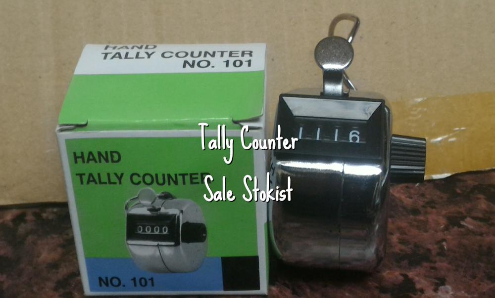 Hand Tally Counter no. 101 alat hitung klik manual tamu barang gudang  di lapak SALE STOKIST sale_stokist