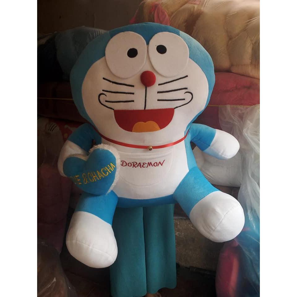 Boneka Doraemon sSuper Jumbo + Bordir Love Nama - 5