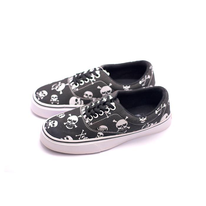 Sepatu Vans Pria Authentic Motif Bone Sneakers Murah Sekolah Kuliah e114d08b99