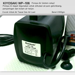 Aquarium Pompa Air 5w KIYOSAKI SP1000L. Source · Detail Gambar Pompa Air Kolam Kiyosaki WP