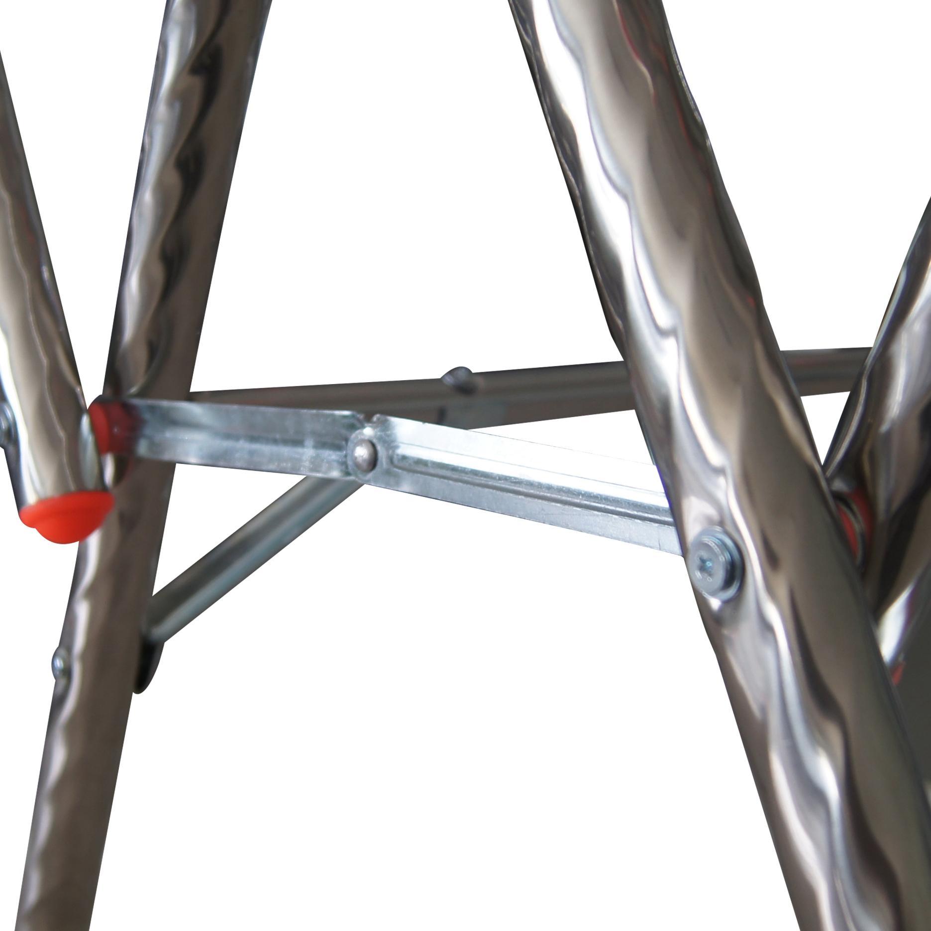 Jemuran Baju Pakaian Handuk A8 Stainless Steel Stenlis - 4