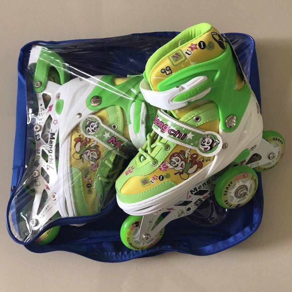 Gambar Produk Rinci Sepatu roda anak bajaj murah sepatu inline skate lampu  Terkini 6b75248723