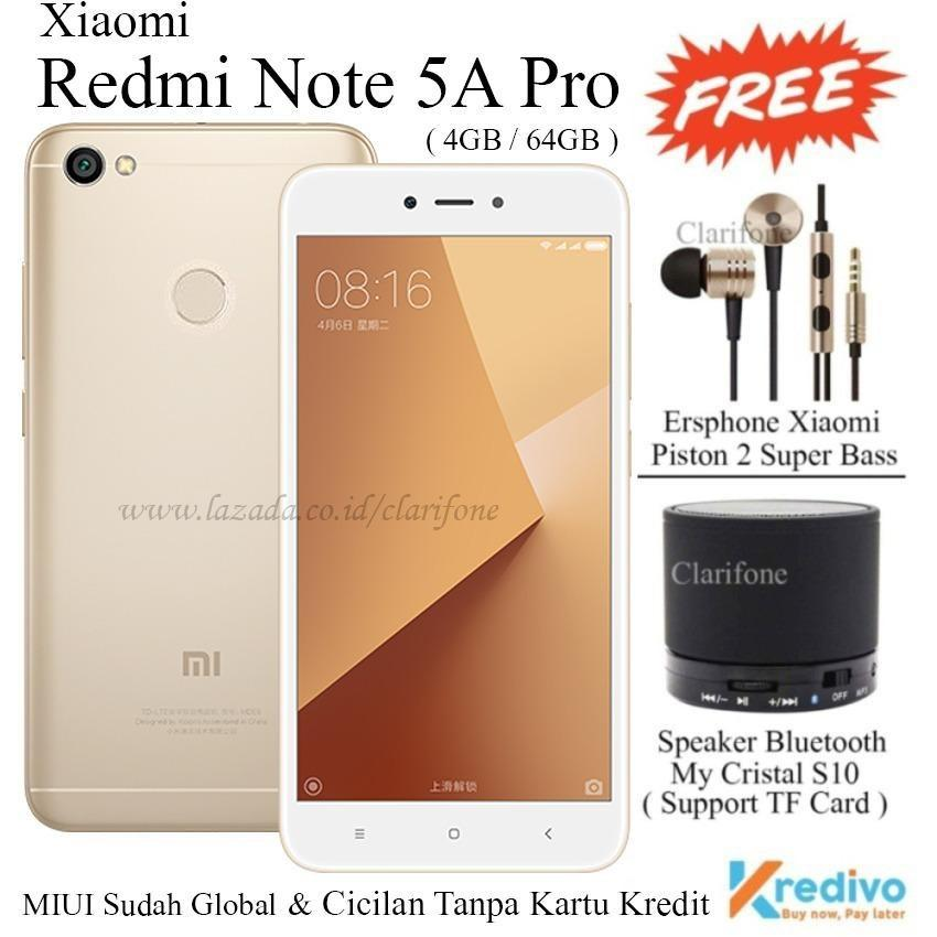 Xiaomi Redmi Note 5A Pro - Ram 4GB - Rom 64GB - 4G/LTE -